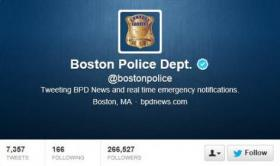 Boston Police send emergency alerts via Twitter
